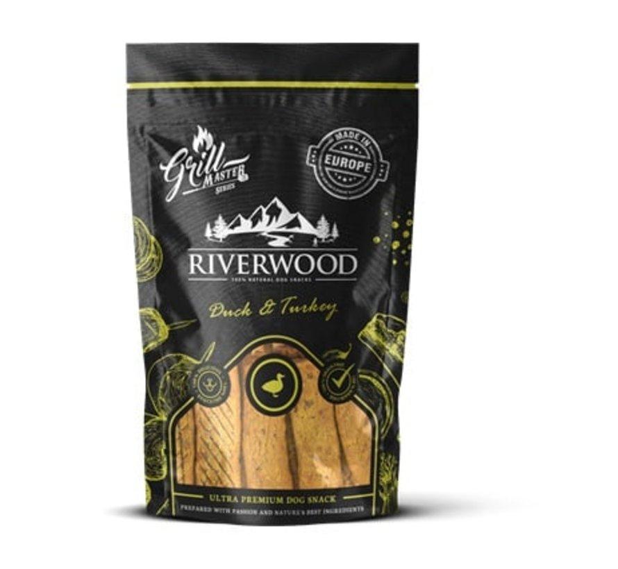 Riverwood Grillmaster Kalkoen/Eend 100gr
