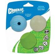 Chuckit Chuckit Fetch Medley S 5cm 3-Pack