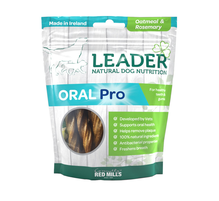 Leader Treats Oral Pro Oatmeal & Rosemary 130gr