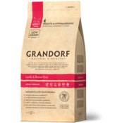Grandorf Grandorf Cat Lam & Bruine Rijst Adult Indoor 400gr