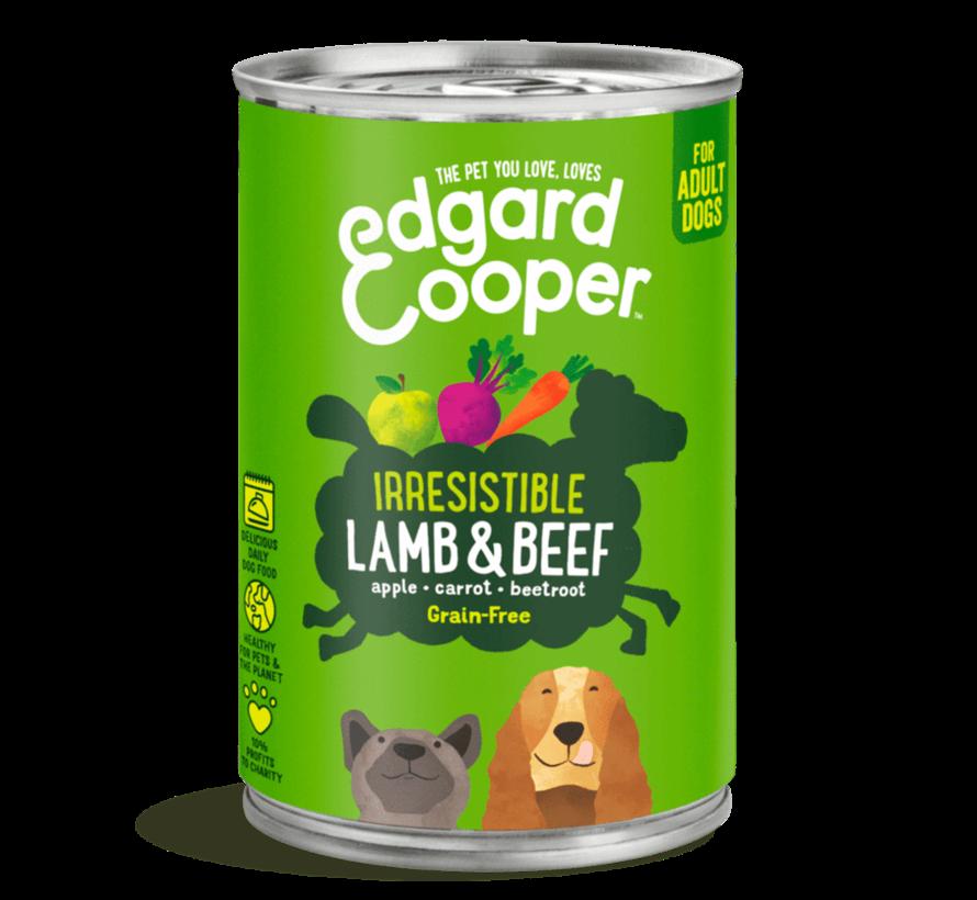 Edgard & Cooper Blik lam 400gr