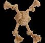 AB Touwbal met 4knopen Naturel 19cm