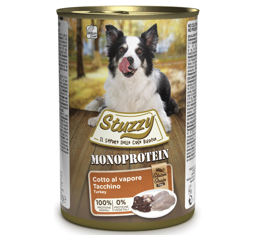Stuzzy Dog Kalkoen 400 gram
