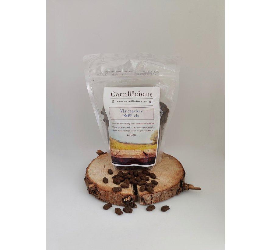 Carnilicious Cracker Vis 500 gram