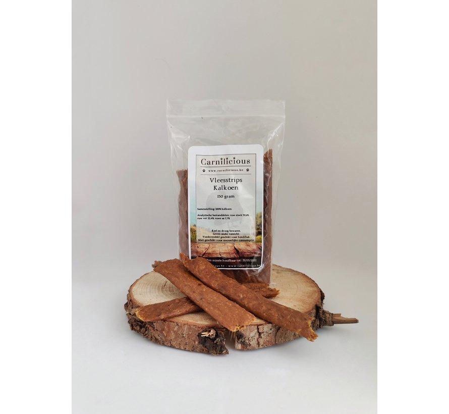 Carnilicious Vleesstrips Kalkoen 150 gram