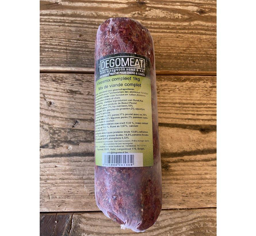 Degomeat Vleesmix 1 kg