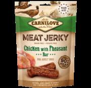 Carnilove in to the wild Carnilove Jerky Kip/Fazant 100g
