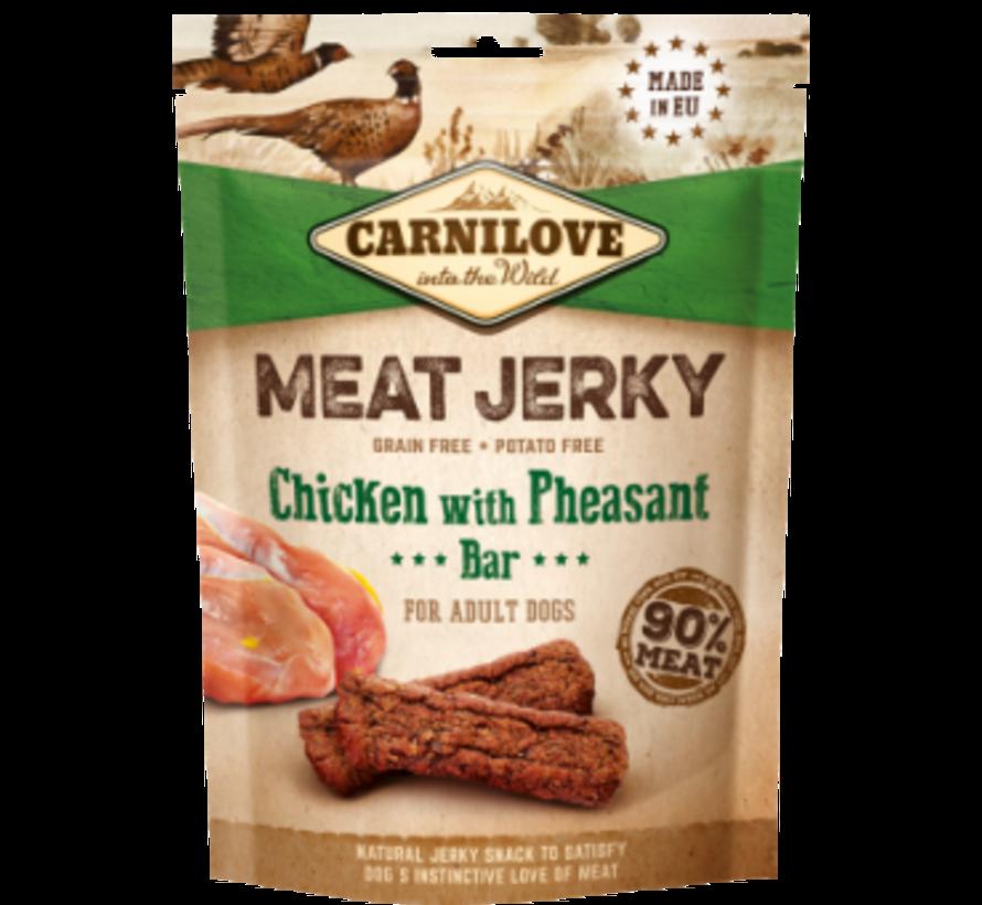 Carnilove Jerky Kip/Fazant 100g