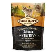 Carnilove in to the wild Carnilove Large Breed Zalm/Kalkoen 1.5 kg