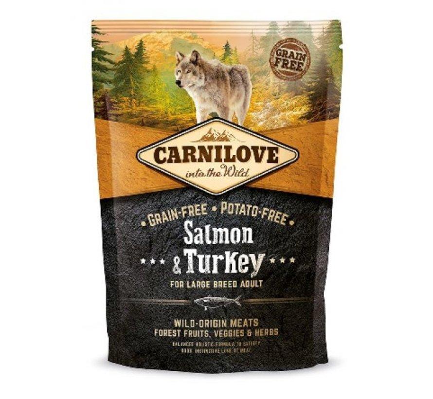 Carnilove Large Breed Zalm/Kalkoen 1.5 kg