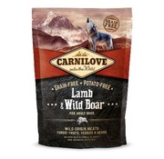 Carnilove in to the wild Carnilove Lam/Zwijn  1.5 kg