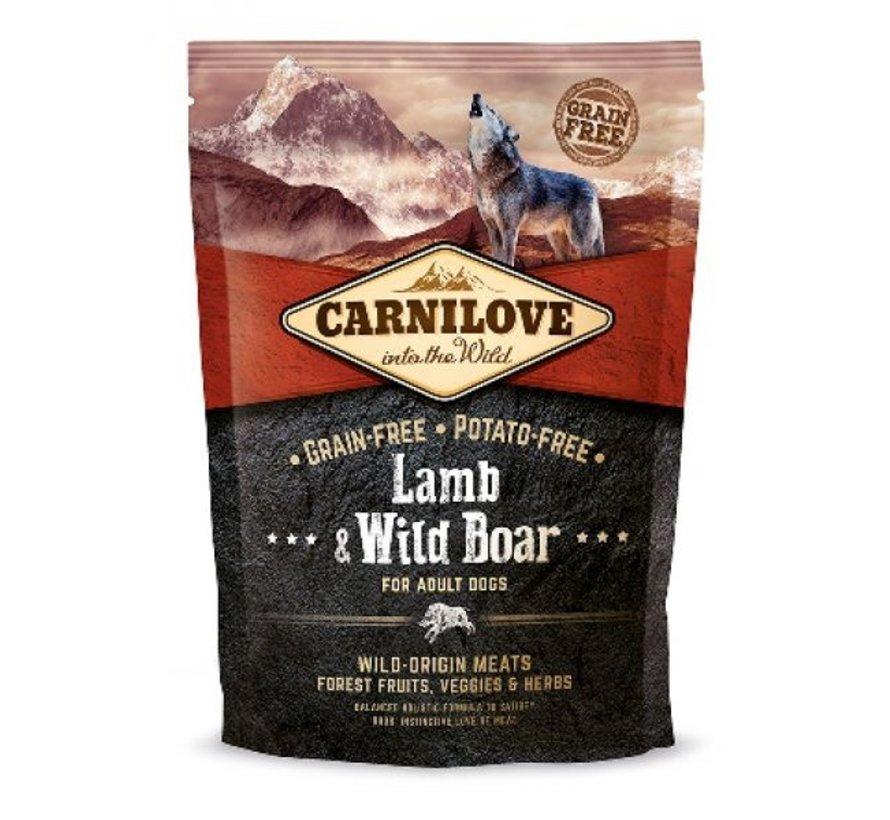 Carnilove Lam/Zwijn  1.5 kg