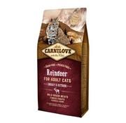 Carnilove in to the wild Carnilove Cat Rendier 6 kg