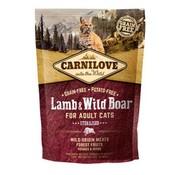 Carnilove in to the wild Carnilove Cat Lam/Zwijn 2 kg