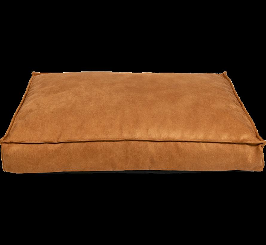 AB Vegan Leather Hondenbed Cognac L