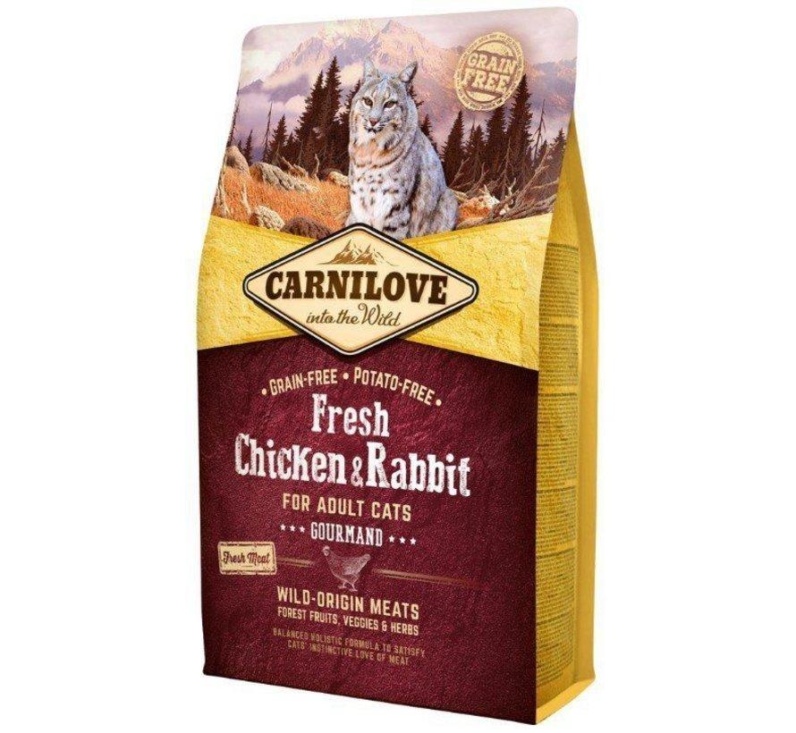 Carnilove Cat Fresh Konijn 6 kg