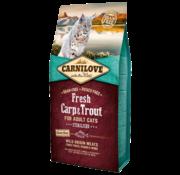 Carnilove in to the wild Carnilove Cat Fresh Karper 6 kg