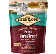 Carnilove in to the wild Carnilove Cat Fresh Karper 2 kg