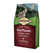 Carnilove in to the wild Carnilove Cat Eend/Fazant 6 kg
