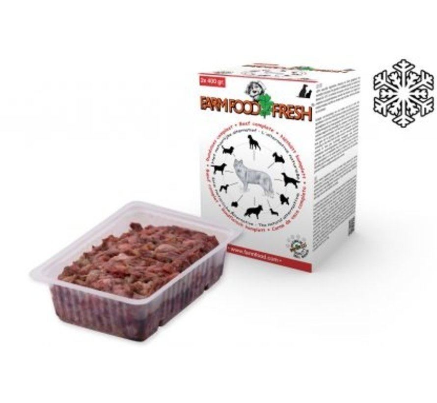 Farmfood Fresh Vlees Compleet 2 x 400 gram