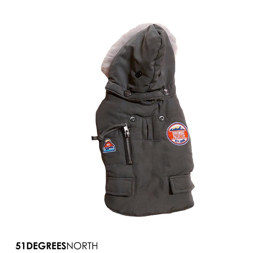 51 - Aspen Dark Grey 24cm
