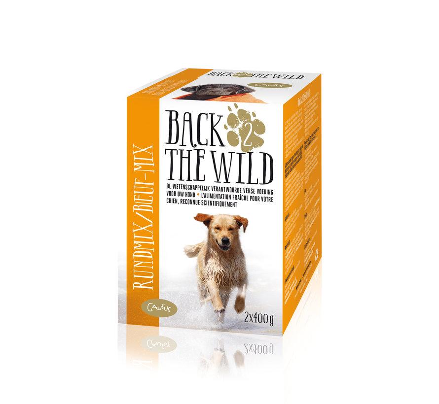 Back 2 the wild Rund 2 x 400 gram