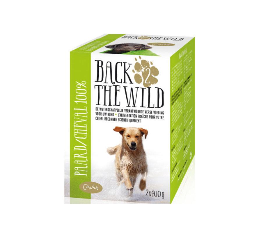 Back 2 the wild Paard 2 x 400 gram