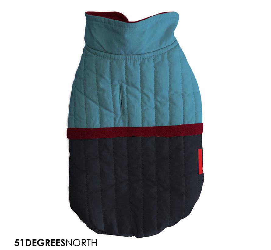 51 - Melange Coat Blue 40cm