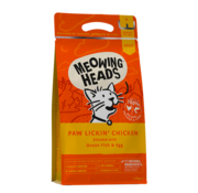 Meowing Heads Meowing Heads Paw Lickin' Chicken  1.5 kg