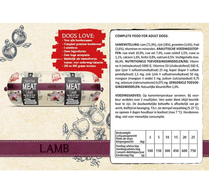 Natural Fresh Meat Lam 250 gram