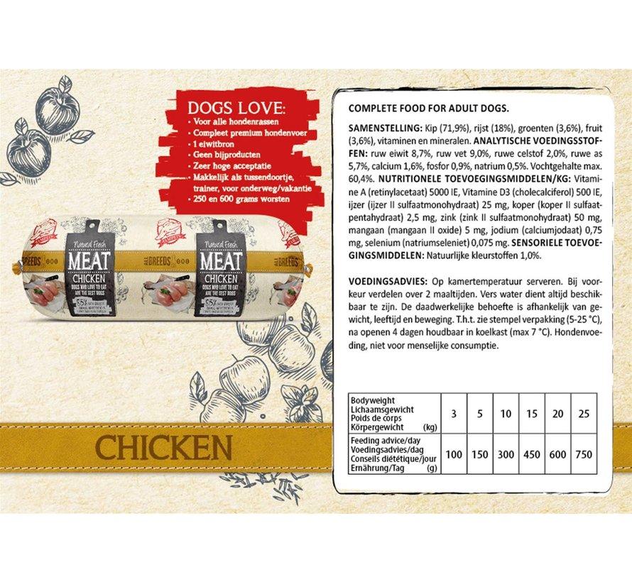 Natural Fresh Meat Kip 600 gram