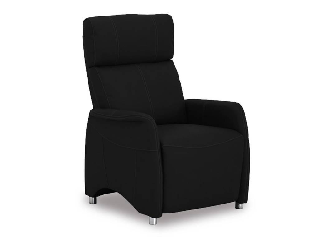 Relaxstoel Javier zwart