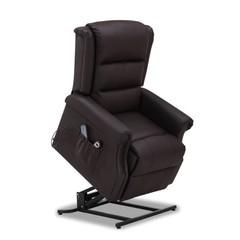 Relaxstoel electrisch Reno bruin