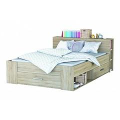 Twijfelaar bed Pocket (140 x 200) - Eiken