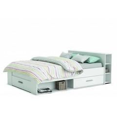 Twijfelaar bed Pocket (140 x 190) - Wit