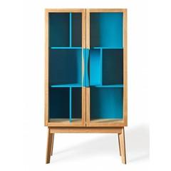 Wandkast Avon blauw