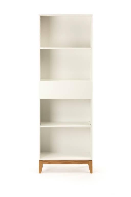 Woodman Boekenkast Blanco hoog
