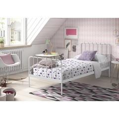 Eenpersoonsbed Alice (90 x 200) - Wit