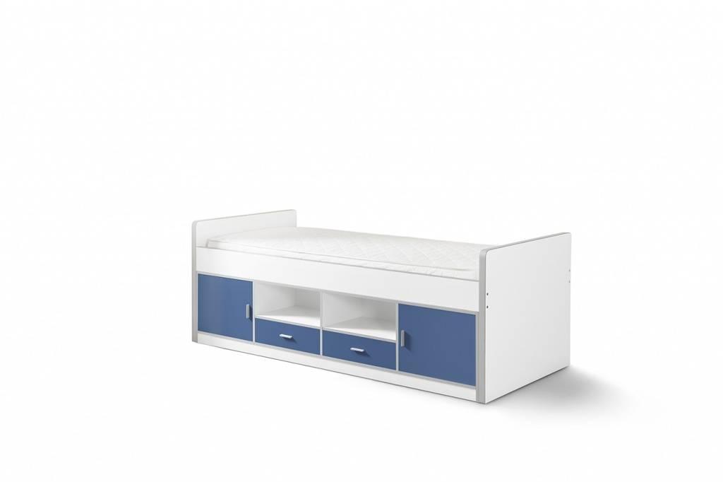 Vipack Eenpersoonsbed Bonny Blauw (90 x 200)