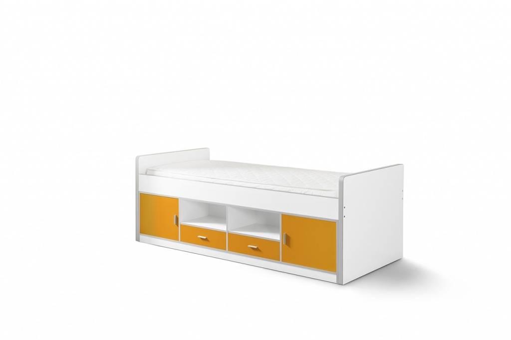 Vipack Eenpersoonsbed Bonny Oranje (90 x 200)