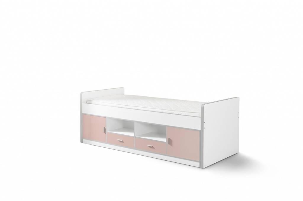 Vipack Eenpersoonsbed Bonny licht roze (90 x 200)
