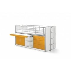 Bonny halfhoogslaper oranje (90 x 200)
