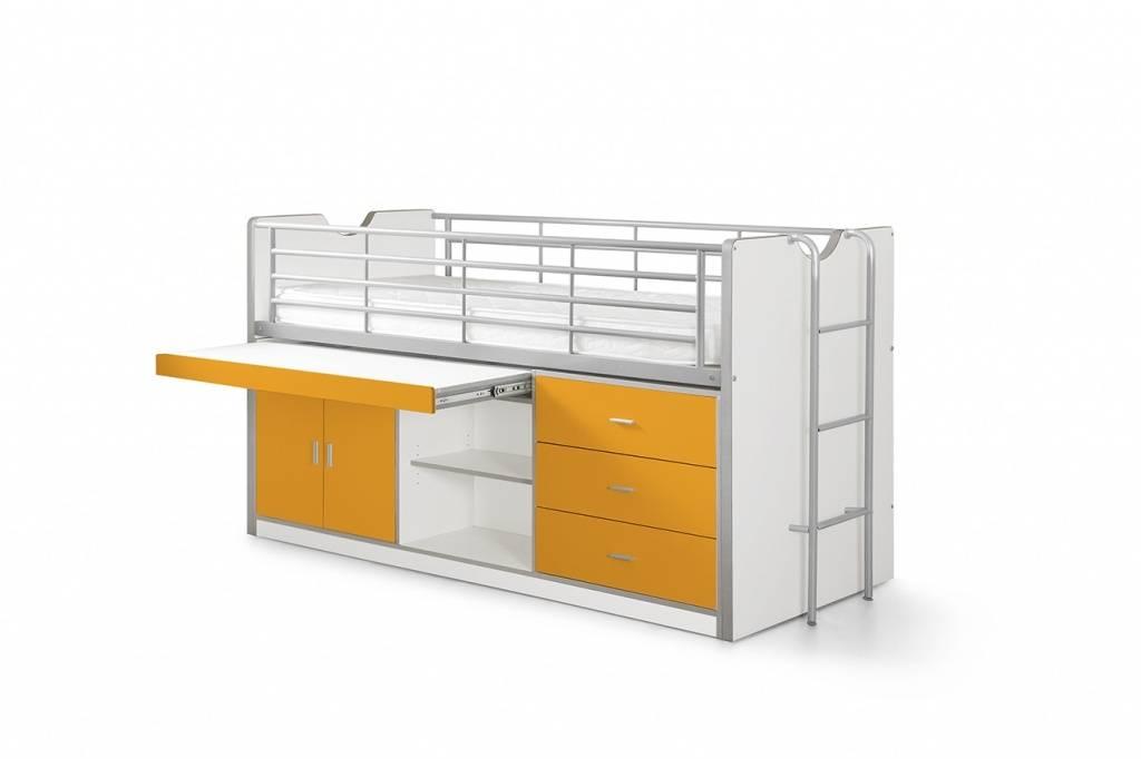 Vipack Bonny halfhoogslaper oranje (90 x 200)