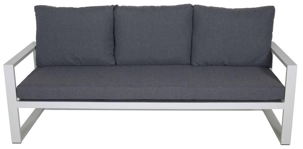 Aluminium lounge hoekbank Pina Colada 4-delig