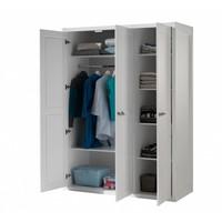 Vipack Lewis 3 deurs kledingkast