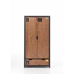 Alex 2 deurs kledingkast