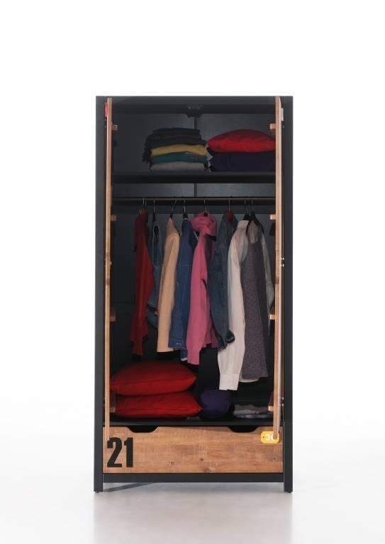 Vipack Alex 2 deurs kledingkast