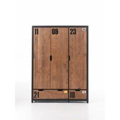 Alex 3 deurs kledingkast