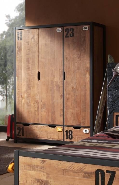 Vipack Alex 3 deurs kledingkast