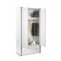 Vipack Bonny 2 deurs kledingkast fuchsia